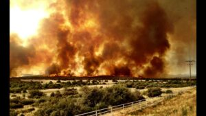 Yarnell fire where the team perished