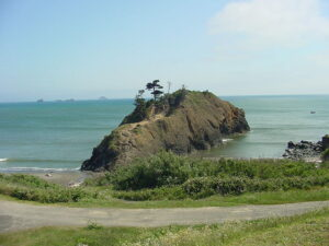 photo of Battle Rock in Port Orford, OR