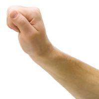 photo of fist