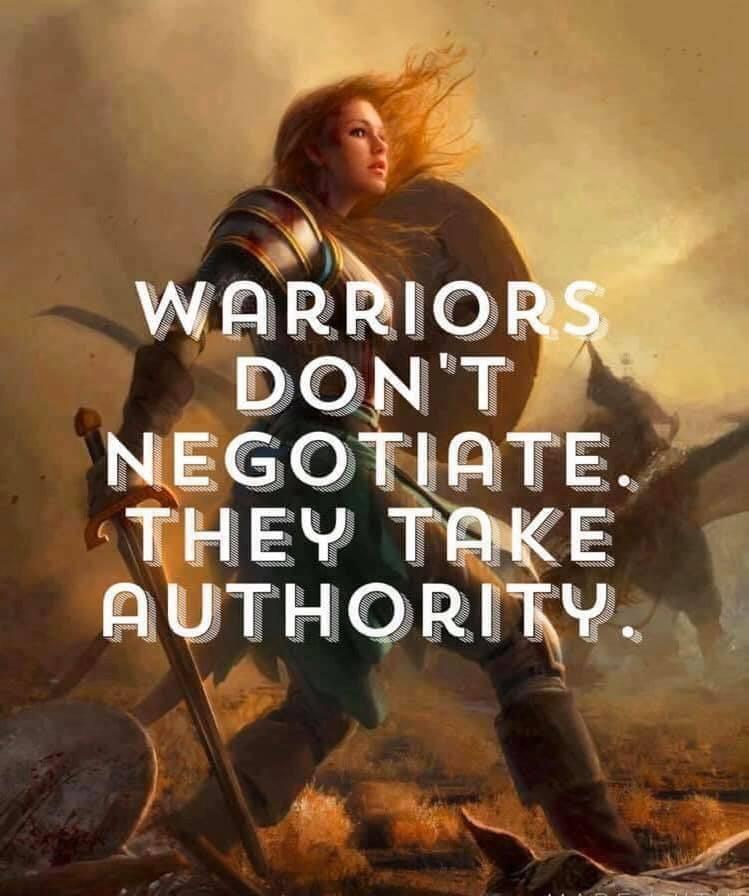 warriors don't negotiate meme